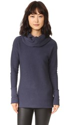 Bobi Terry Turtleneck Tunic Granite