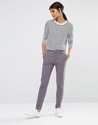 Selected Muse Skinny Trousers In Tower Grey Tower Grey