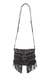 Ash 'Joni' Leather Crossbody Bag Black