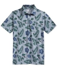 American Rag Men's Floral Print Polo Only At Macy's Blue