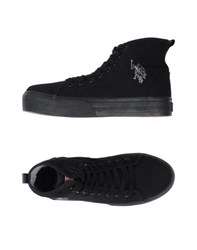 U.S. Polo Assn. U.S.Polo Assn. Footwear High Tops And Trainers Women Black