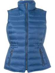 Burberry Brit 'Cranstead' Puffer Vest Blue