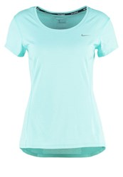 Nike Performance Sports Shirt Hyper Turquoise Reflective Silver Mint