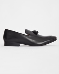 Base London Larkin Tassle Loafer Black