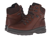 Ecco Rugged Track Gtx High Bison Mocha Men's Lace Up Boots Brown