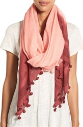 Women's La Fiorentina Tassel Cotton And Silk Scarf