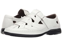 Stacy Adams Biscayne White Men's Shoes