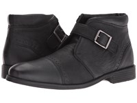 Stacy Adams Rawley Cap Toe Monk Strap Boot Black Men's Boots
