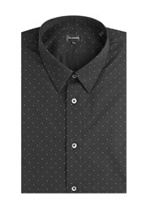Jil Sander Printed Cotton Shirt Black