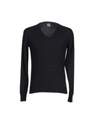 Adam Kimmel Knitwear Jumpers Men Steel Grey