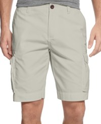 Tommy Hilfiger Big And Tall Classic Cargo Shorts Stone