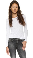 Sundry Classic Long Sleeve Tee White