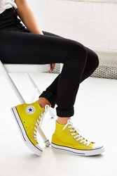 Converse Chuck Taylor All Star Seasonal High Top Sneaker Bright Yellow