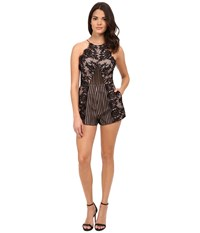 Style Stalker Confidential Romper Ebony Women's Jumpsuit And Rompers One Piece Black