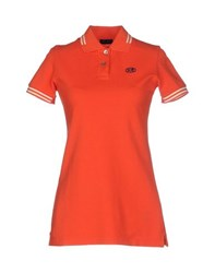 Historic Research Topwear Polo Shirts Women Orange