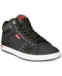 Levi's Cody Mid Sneakers Men's Shoes Black White