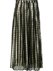 Dodo Bar Or Pleated Maxi Skirt Metallic