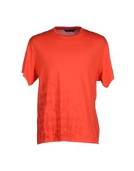 Karl By Karl Lagerfeld Topwear T Shirts Men Red