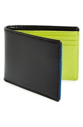 Marc By Marc Jacobs Colorblock Leather Wallet Black