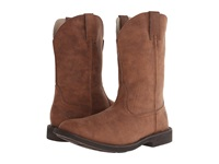 Roper Rider Sole Square Toe Boot Brown Cowboy Boots