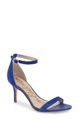Women's Sam Edelman 'Patti' Ankle Strap Sandal Sailor Blue