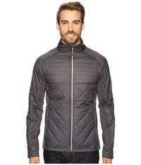 Asics Thermo Windblocker Iron Gate Men's Coat Gray
