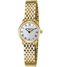 Frederique Constant Fc200mcs5b Slimline Mini Yellow Gold Plated Watch
