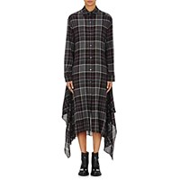 Public School Women's Alice Plaid Crepe Dress Grey