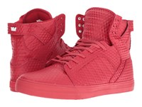 Supra Skytop Red Red Men's Skate Shoes