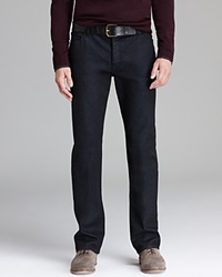 John Varvatos Collection Jeans Pick Stitch Slim Fit In Navy