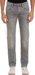 Frame Denim Washed Denim L'homme Jeans Gray