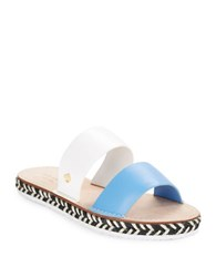 Kate Spade Idreena Espadrille And Leather Sandals Alice Blue