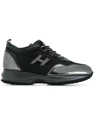 Hogan Lateral Patch Sneakers Black