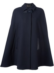 Versace Buckled Cape Blue