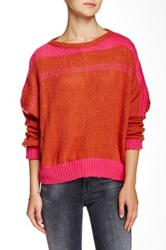 Wooden Ships Weekend Slouchy Sweater Multi