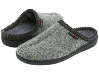Haflinger At Classic Hardsole Grey Speckle Slippers Gray