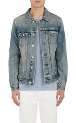 Earnest Sewn Men's Augustine Trucker Jacket Blue