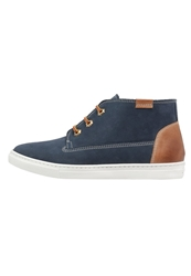 Pier One Hightop Trainers Navy Dark Blue