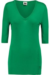 M Missoni Stretch Jersey Top Green
