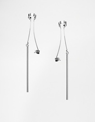 Weekday Chase Earrings Silver