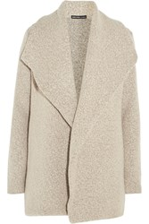 James Perse Wool Blend Boucle Cardigan