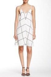 Style Stalker Monumental Tent Dress White
