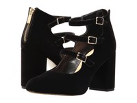 Bella Vita Nettie Black Velvet High Heels