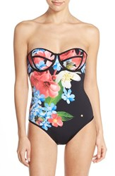 Women's Ted Baker London 'Forget Me Not' Underwire One Piece Swimsuit