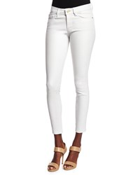 Frame Le Skinny Leather Pants Blanc Size 28