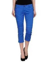 Nolita Denim Capris Bright Blue
