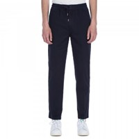 Folk Navy Drawcord Trousers