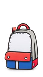 Jumpfrompaper Adventure Backpack Blue Red