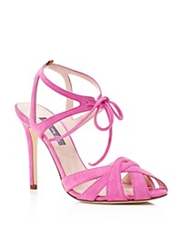 Sjp By Sarah Jessica Parker Keating Suede High Heel Sandals 100 Bloomingdale's Exclusive Lolli