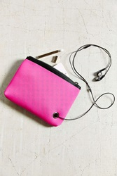 Urban Outfitters Neoprene Small Pouch Pink